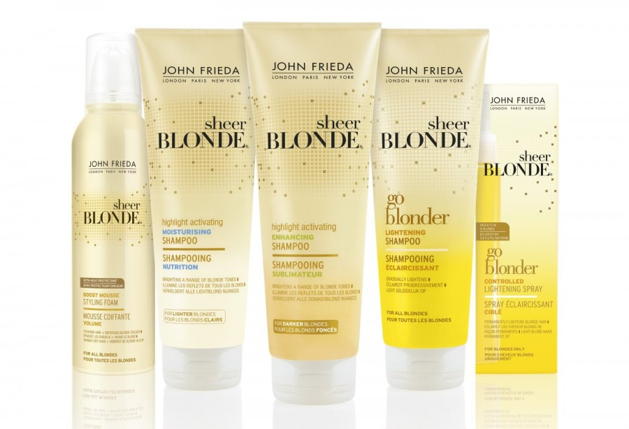 Spray Sheer Blonde John Frieda
