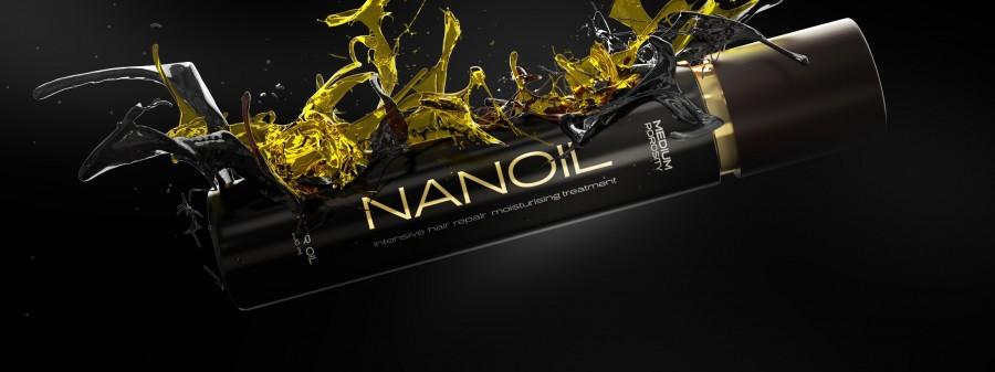 Nanoil- najlepszy olejek do każdego typu włosów