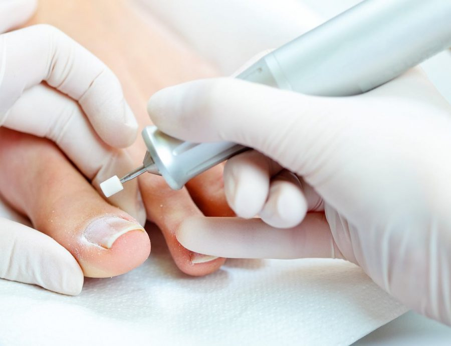 jak działa frezarka do paznokci?
