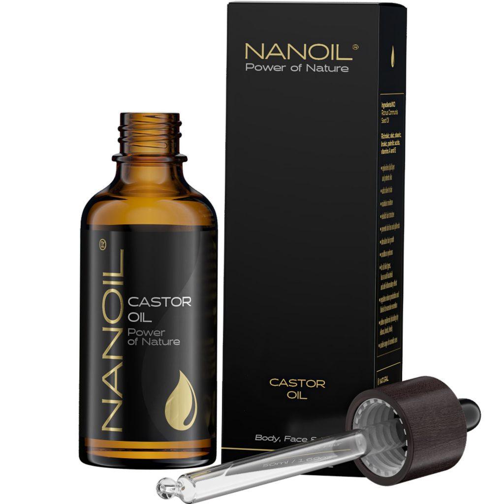 Najlepszy olejek rycynowy Nanoil