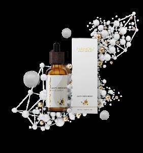serum do cery naczynkowej łagodzące podrażnienia Nanoil